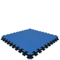 Royal Blue/Black Economy Reversible SoftFloors