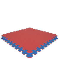 Royal Blue/Red Economy Reversible SoftFloors