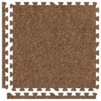 Light Brown Premium SoftCarpets