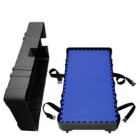 """Portable Wheeled HardCases<br />holds 25 SoftFloors<br />and when full measures<br />50"""" x 28"""" x 12""""@62 lbs. Shipping Cases"""
