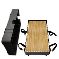 """Portable Wheeled HardCases<br />holds 25 SoftWoods<br />and when full measures<br />50"""" x 28"""" x 12""""@62 lbs. Shipping Cases"""