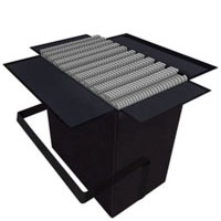 """10' x 10' Carrying SoftCases<br/>holds 25 SoftCarpets<br/>and when full measures<br />26"""" x 26"""" x 17""""@47 lbs Shipping Cases"""
