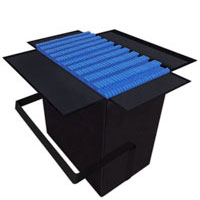 """10' x 10' Carrying SoftCases<br/>holds 25 SoftFloors<br/>and when full measures<br />26"""" x 26"""" x 17""""@35 lbs Shipping Cases"""